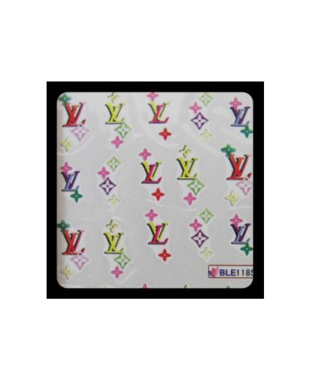 BVM SHOP Prodotti unghie NAIL Stickers LOUIS VUITTON n.4 Acqua