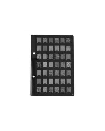 Stampi metallici per decorazione unghie cod.A